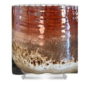 Pottery Reflection Shower Curtain