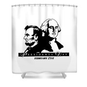 President's Day Shower Curtain