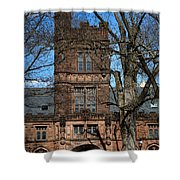 Princeton University East Pyne Hall Tower Shower Curtain