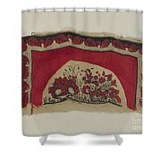 Printed Textiles Shower Curtain