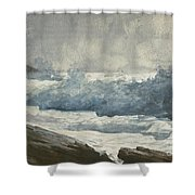 Prouts Neck, Breakers Shower Curtain
