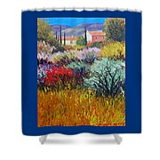 Provence In Bloom Shower Curtain