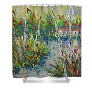 Provence South Of France Shower Curtain