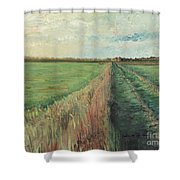 Provence Villa Shower Curtain