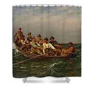 Pull For The Shore Shower Curtain