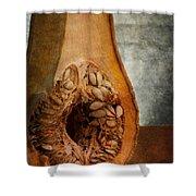 Pumpkin Anatomy Shower Curtain
