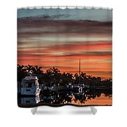 Punta Gorda From Bal Harbor Shower Curtain
