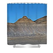 Pyramid Mountains In Emery County Utah Shower Curtain