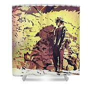 Quechua Man- Peru Shower Curtain