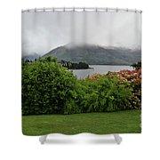 Queenstown, New Zealand Shower Curtain