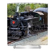 Quincy Railroad No. 2 Shower Curtain