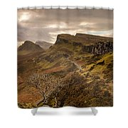 Quiraing Skye Shower Curtain