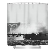 Quite A Dustup Shower Curtain