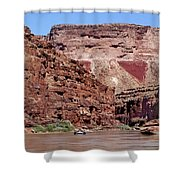 Rafting The Colorado Shower Curtain