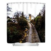 Railroad Shower Curtain