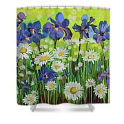 Raining Sunshine Shower Curtain
