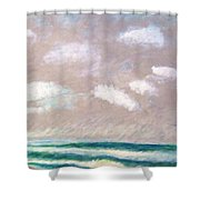 Huge Sky  Shower Curtain