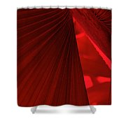 Red As Blood Shower Curtain