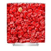 Red Blood Cells, Sem Shower Curtain