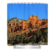 Red Canyon  Shower Curtain