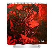 Red Series No. 2 Shower Curtain