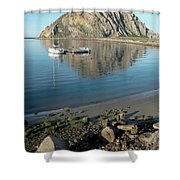 Reflection Anchorage  Shower Curtain