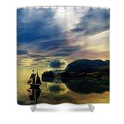 Reflection Bay Shower Curtain