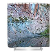 Reflections In Oak Creek Canyon Shower Curtain