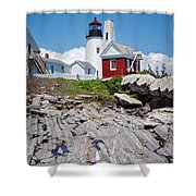 Reflections Of Pemaquid Shower Curtain