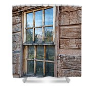 Reflections Of Time Shower Curtain by Sandra Bronstein