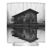 Reflective Morning Shower Curtain