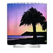 Refugio Point 1 Shower Curtain
