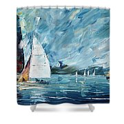 Regatta Shower Curtain
