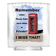 Remember When . . . Shower Curtain