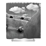 Remembering Taos New Mexico 2 Shower Curtain