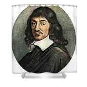 Rene Descartes, 1596-1650 Shower Curtain