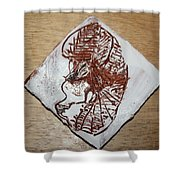 Repose - Tile Shower Curtain