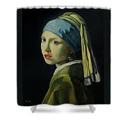 Reproduction Shower Curtain
