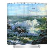 Restless Shower Curtain