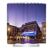 Reus Triptych, Spain Shower Curtain