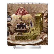 Reynauds Praxinoscope For The Home, 1883 Shower Curtain