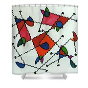 Rfb0581 Shower Curtain