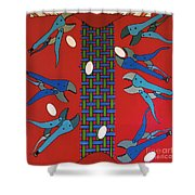 Rfb0919 Shower Curtain