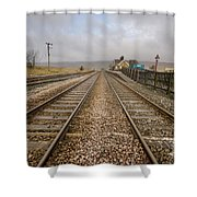 Ribblehead Station Shower Curtain