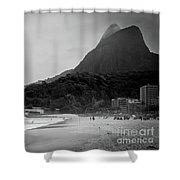 Rio De Janeiro Beach Shower Curtain