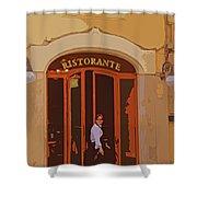 Ristorante Shower Curtain