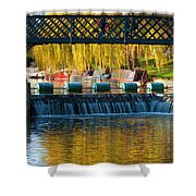 River Cam Shower Curtain