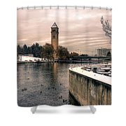 River Front Park Spokane Shower Curtain