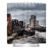 River Hull Shower Curtain