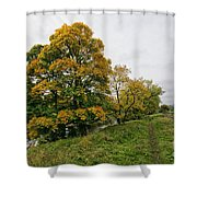 River Swale Shower Curtain
